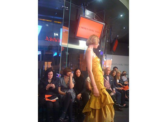 Onlookers included stylist Patricia Field, Vanessa Williams and Sherri Shepherd
