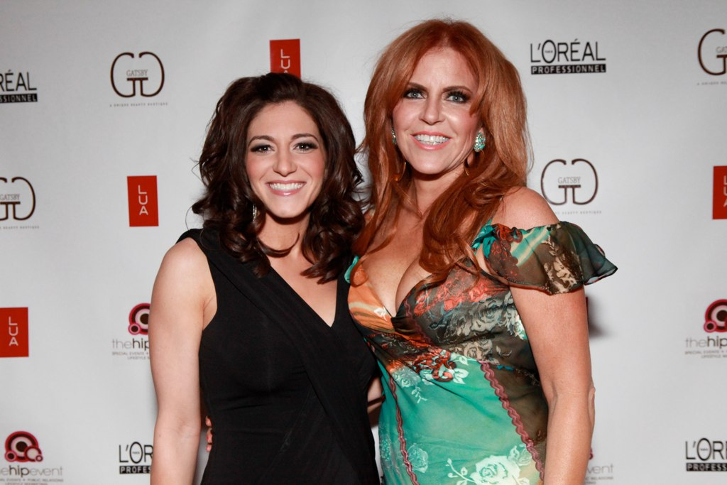 Jerseylicious stars Christy Pereira and Gayle Giacomo