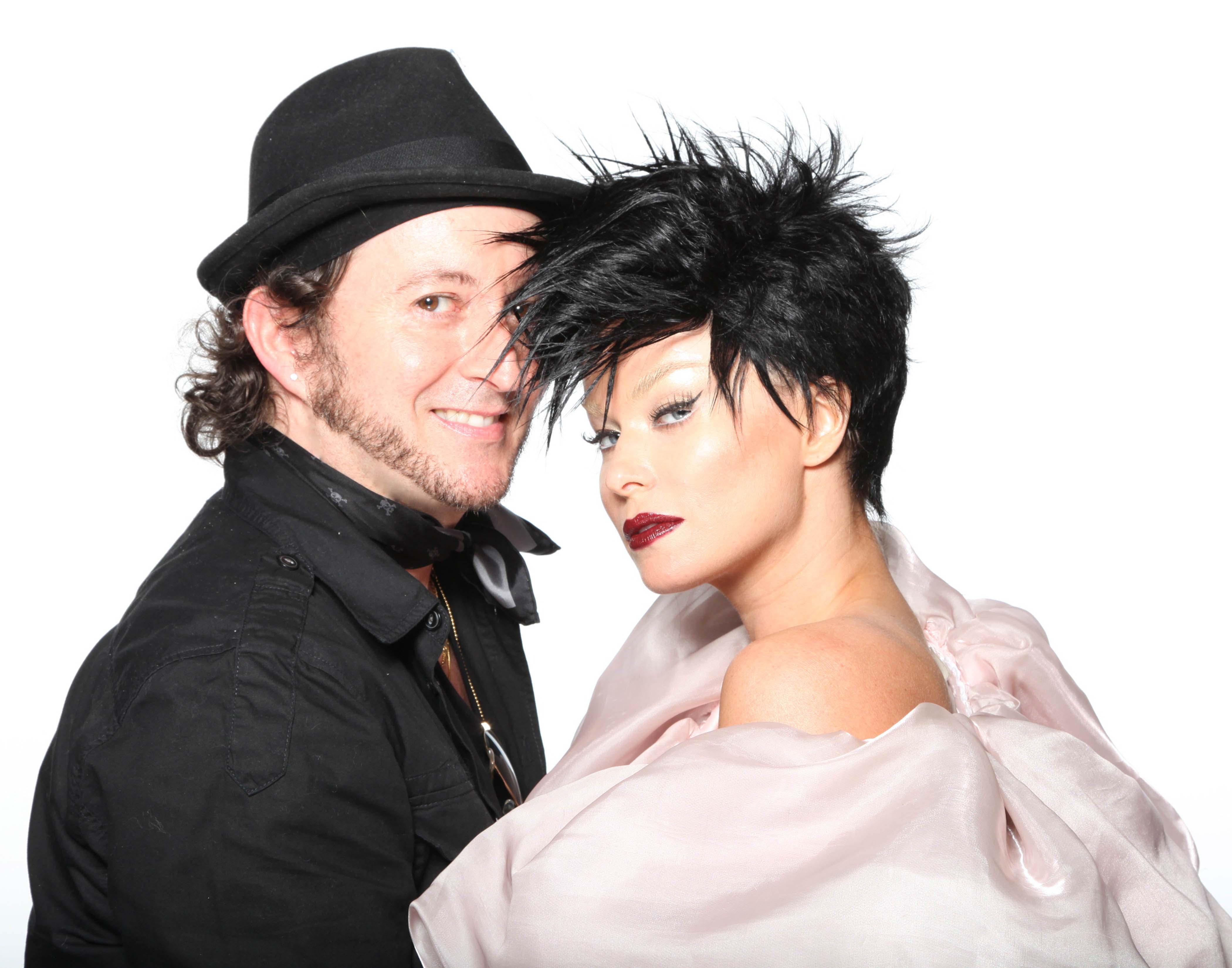 Davide Torchio and Carmen Electra