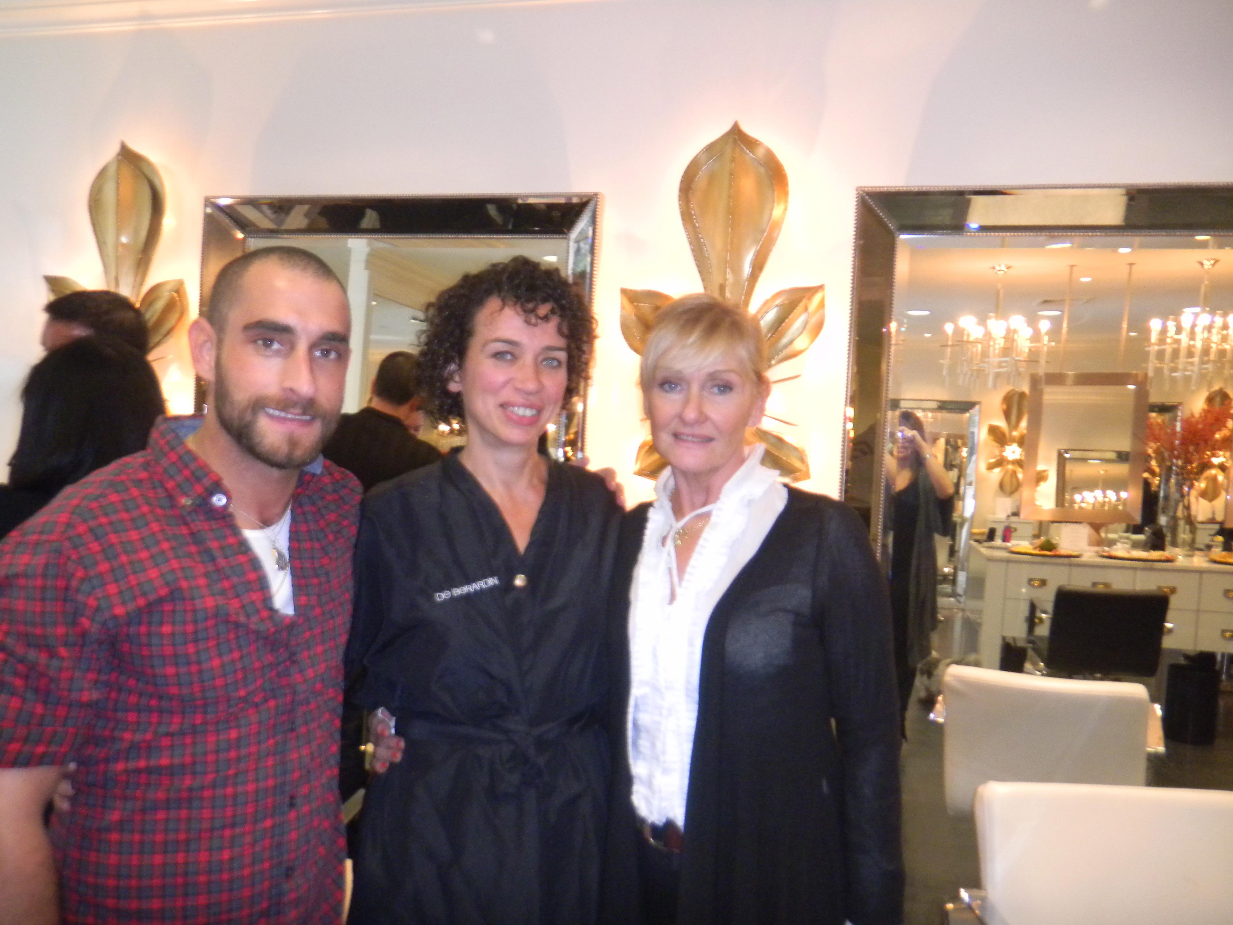 De Berardinis and guests