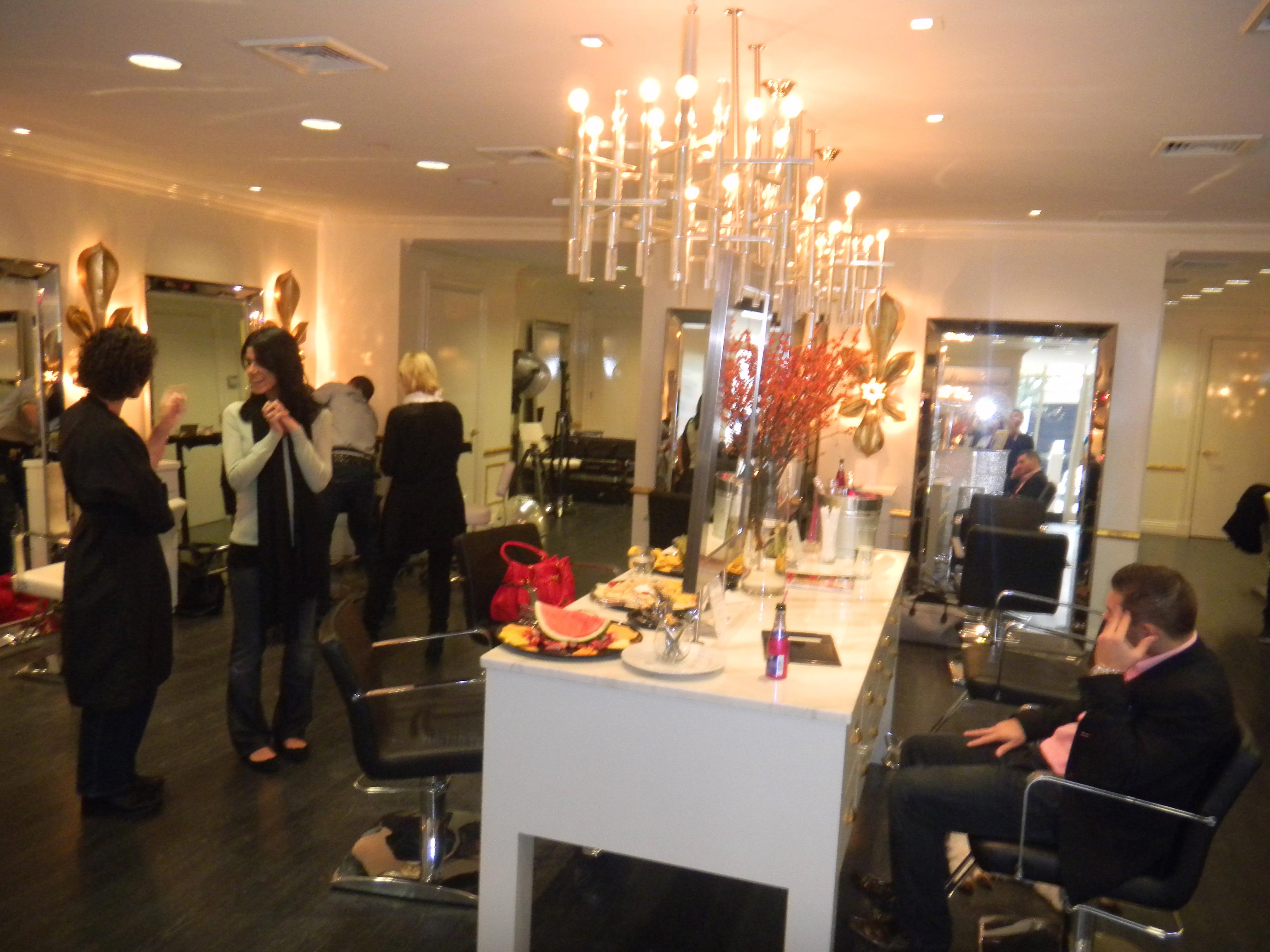 De Berardinis' salon