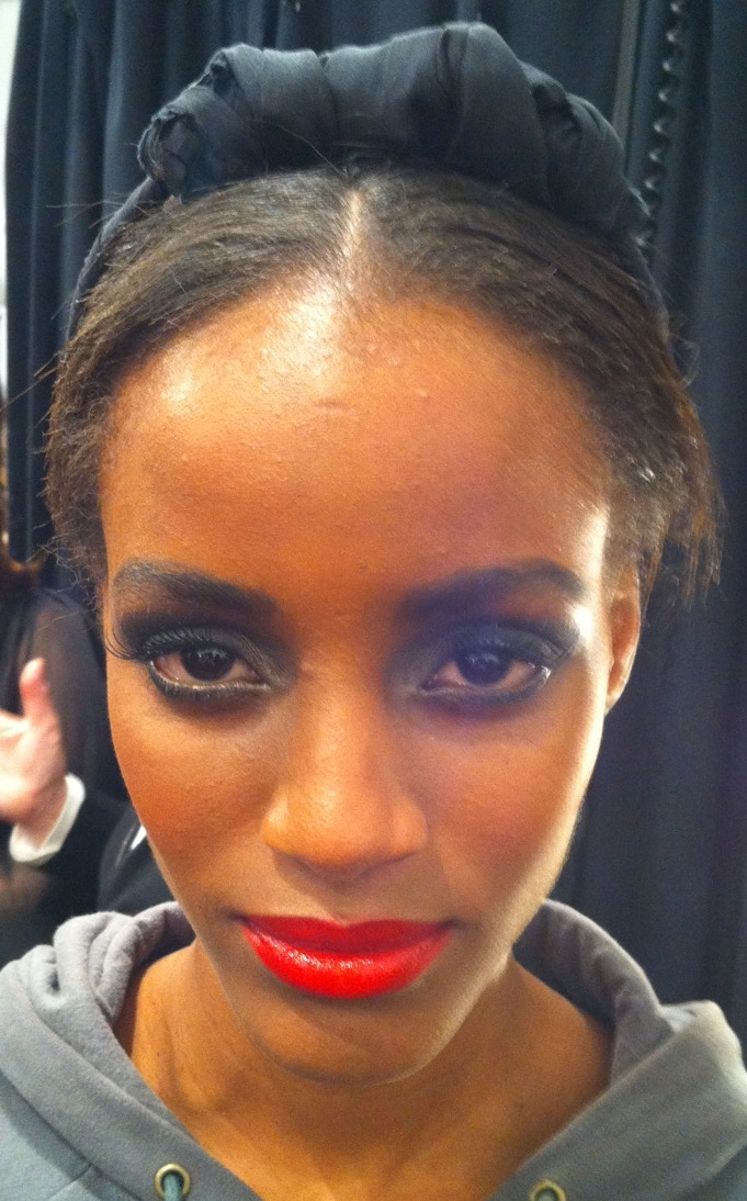 Sultry makeup from Lena Koro for NARS