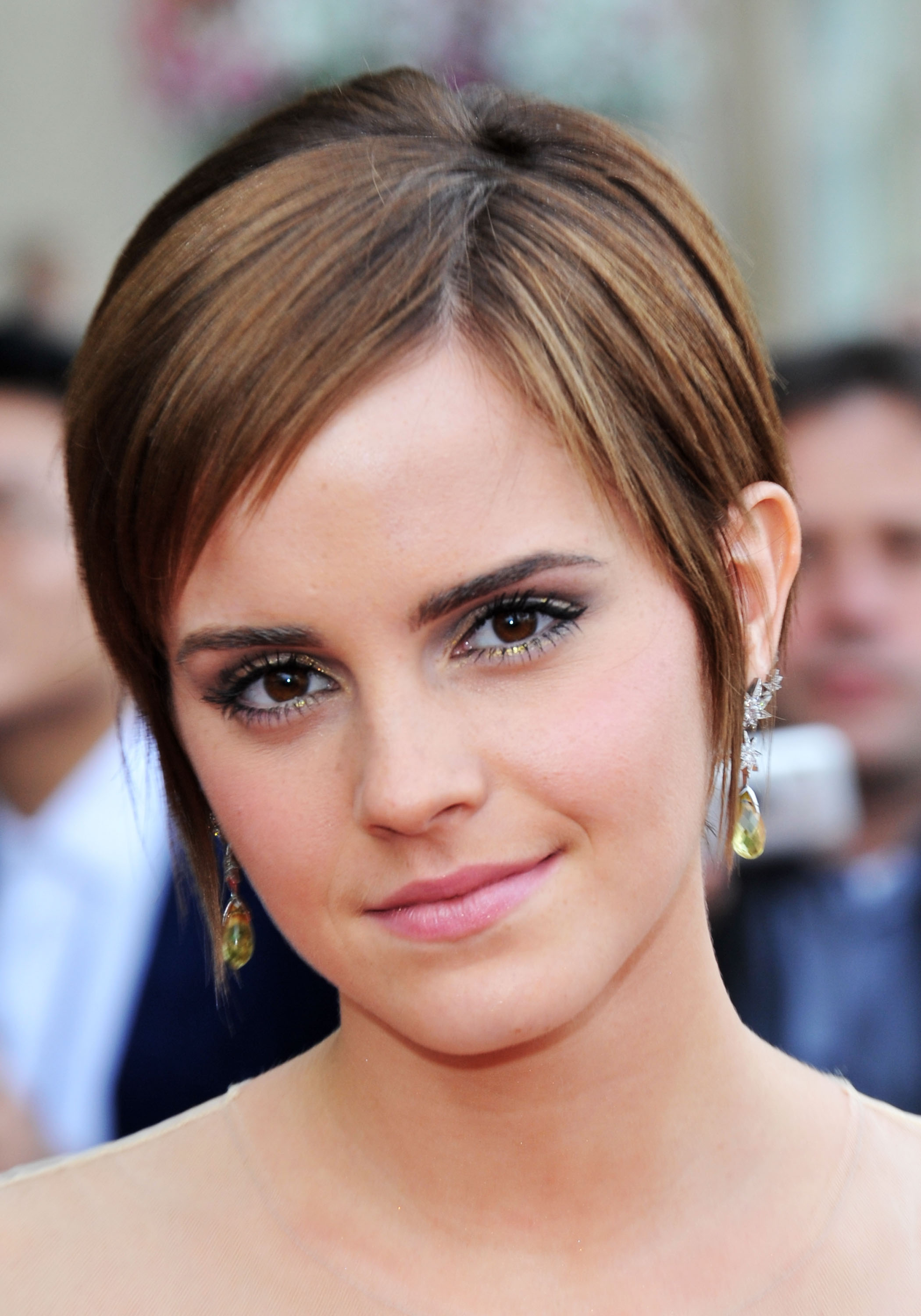 get the look: emma watson at the harry potter and the deathly