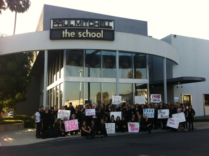 Paul Mitchell Schools Announce Third Annual Free Hugs Day