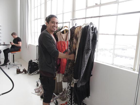 Fashion stylist Rod Novoa