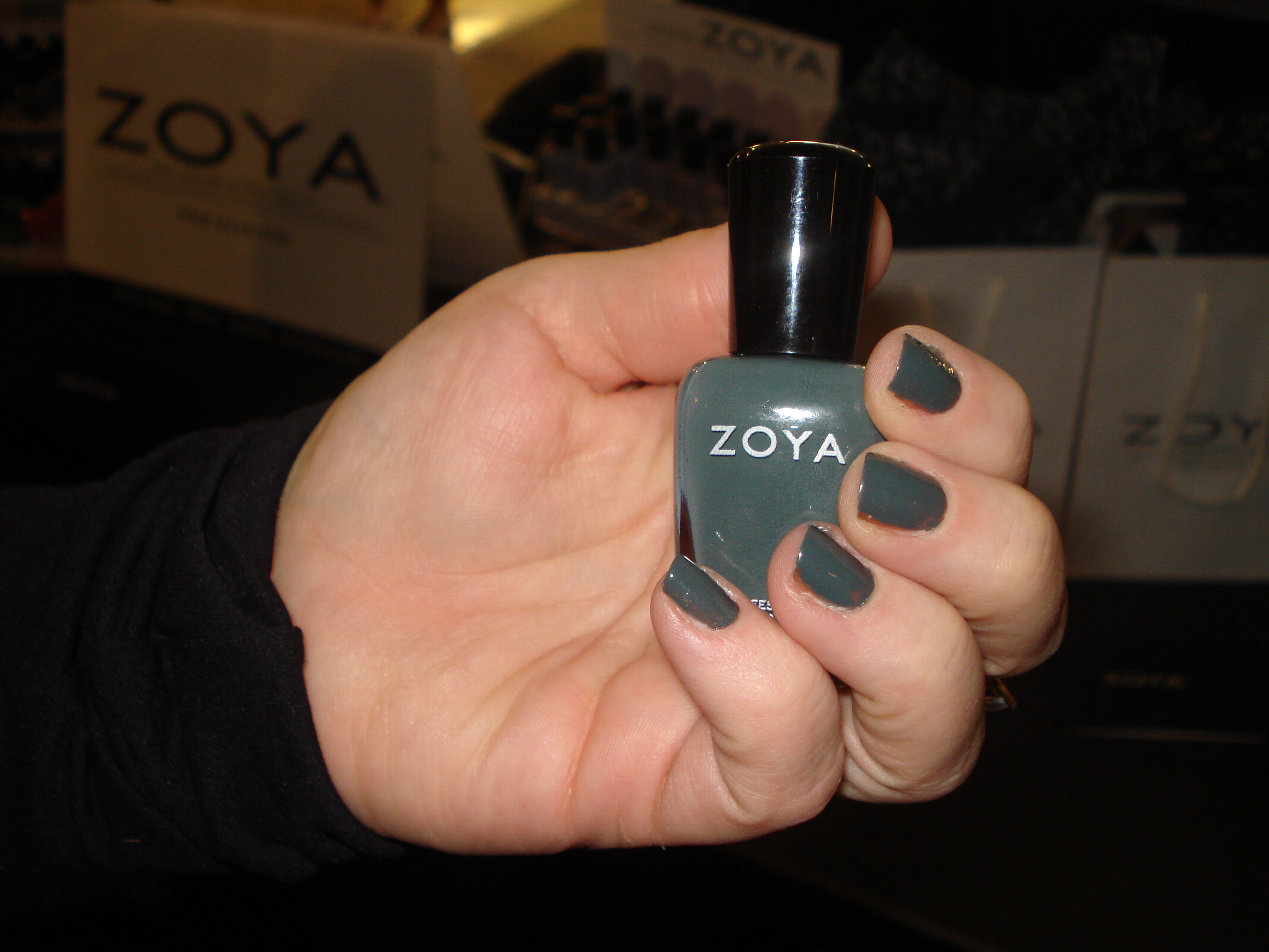 Evvie by Zoya, one of three included in the limited edition Peter Som Collection