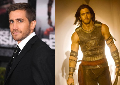 For the mystical film Prince of Persia: The Sands of Time (2010) Jake Gyllenhaall's hair was lengthened by Stotts with extensions, altering his hair from 1½ (left) to 8 inches (right) for the role