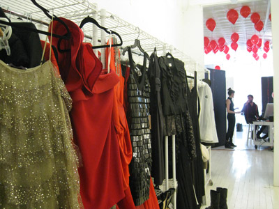 Fashion stylist Nikko Kefalas had a lot of garments to work with to create the best clothing ensembles.