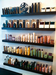 Rare Salon carries Pureology, Oribe and Redken products.