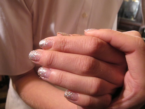 CND's Fairy Dust manicure