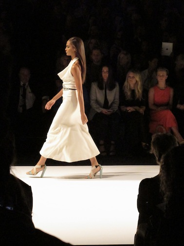 The Carolina Herrera runway show