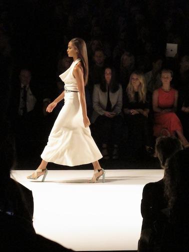 The Carolina Herrera runway show