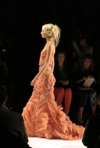 The Badgley Mischka runway show