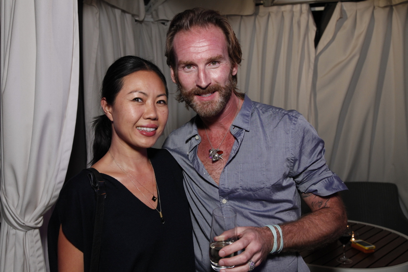 Celebrity stylists Jenny Cho and Peter Butler