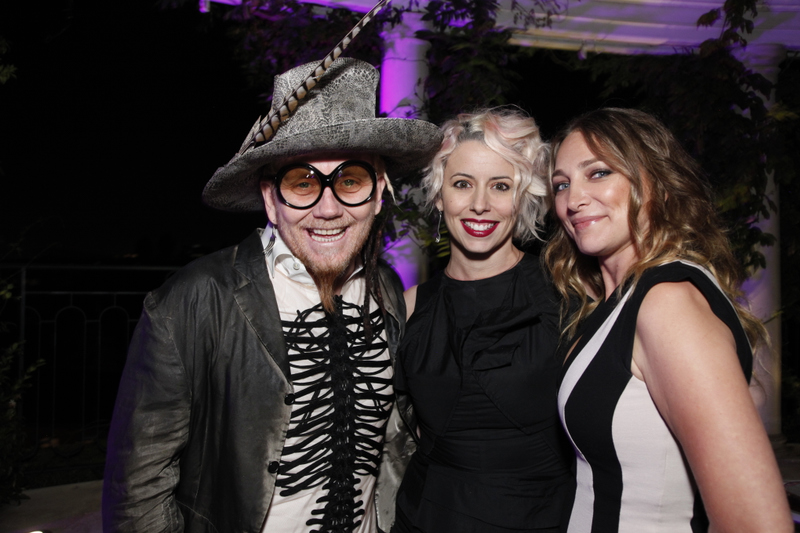 Paul Mitchell's Robert Cromeans and Mary Cuomo with celebrity stylist Diana Schmidtke