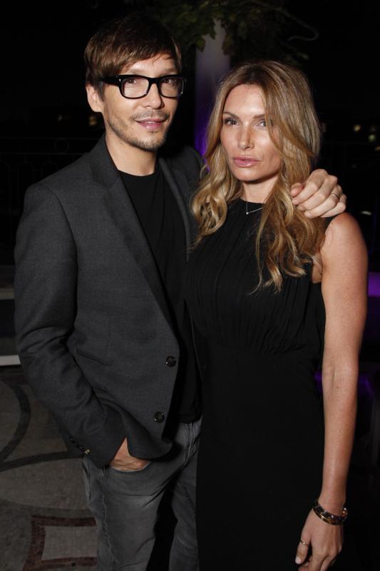 Celebrity stylist Ken Paves with Eden Sassoon