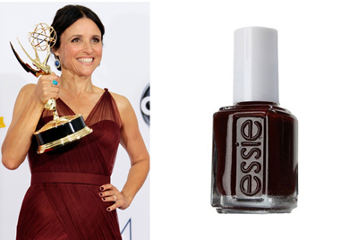 This wine-colored lacquer added a sophisticated touch to this comedian extraordinaire at the 64th Annual Primetime Emmy Awards last year.