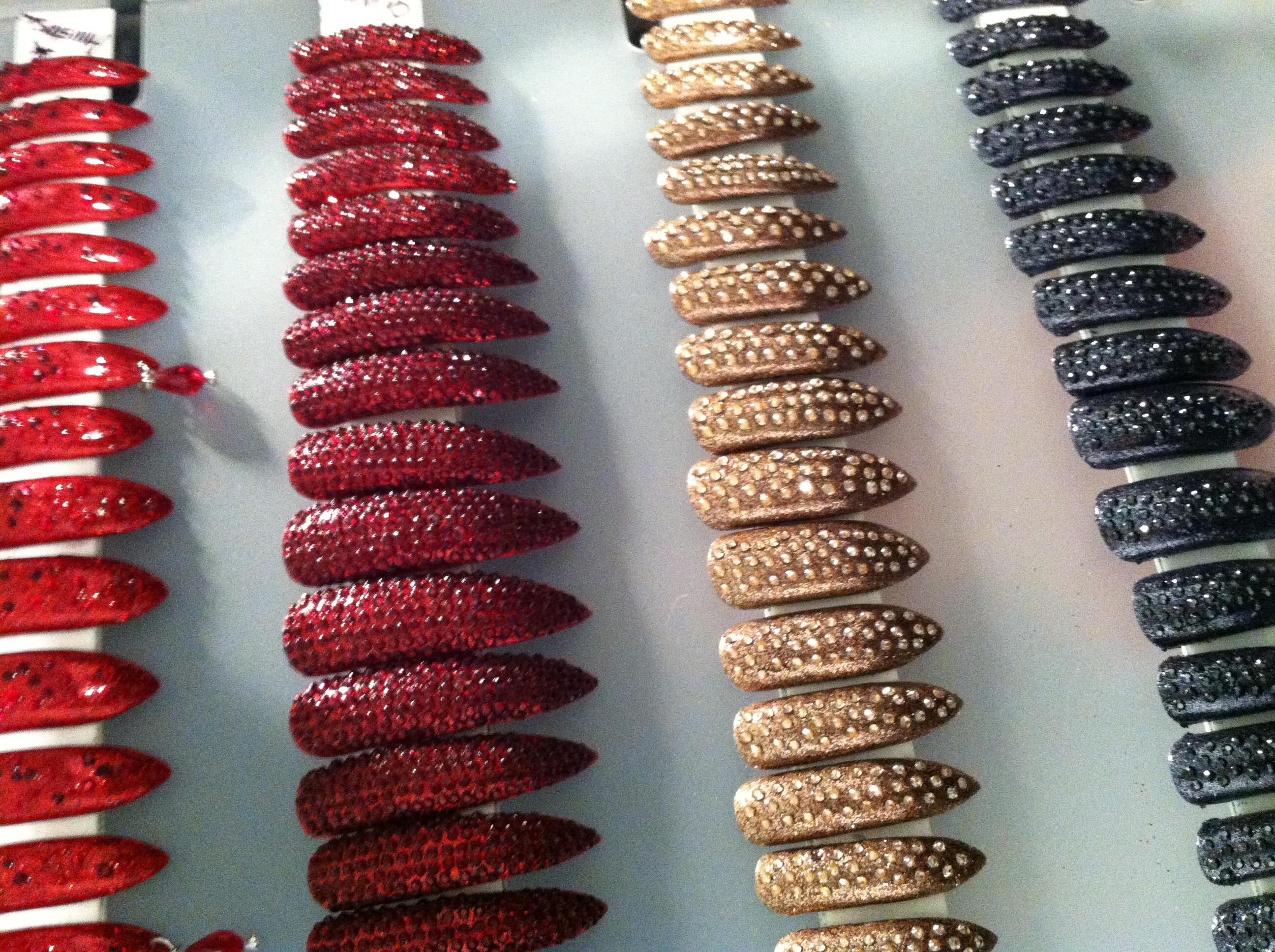 Swarovski crystal talons
