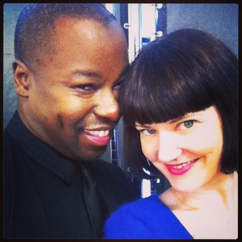 Ted Gibson and American Salon Senior Editor Jolene Turner