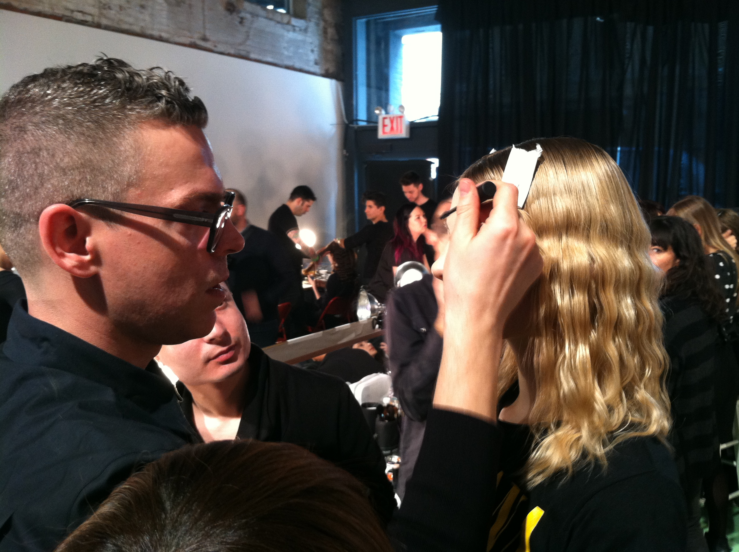 James Boehmer perfects the look