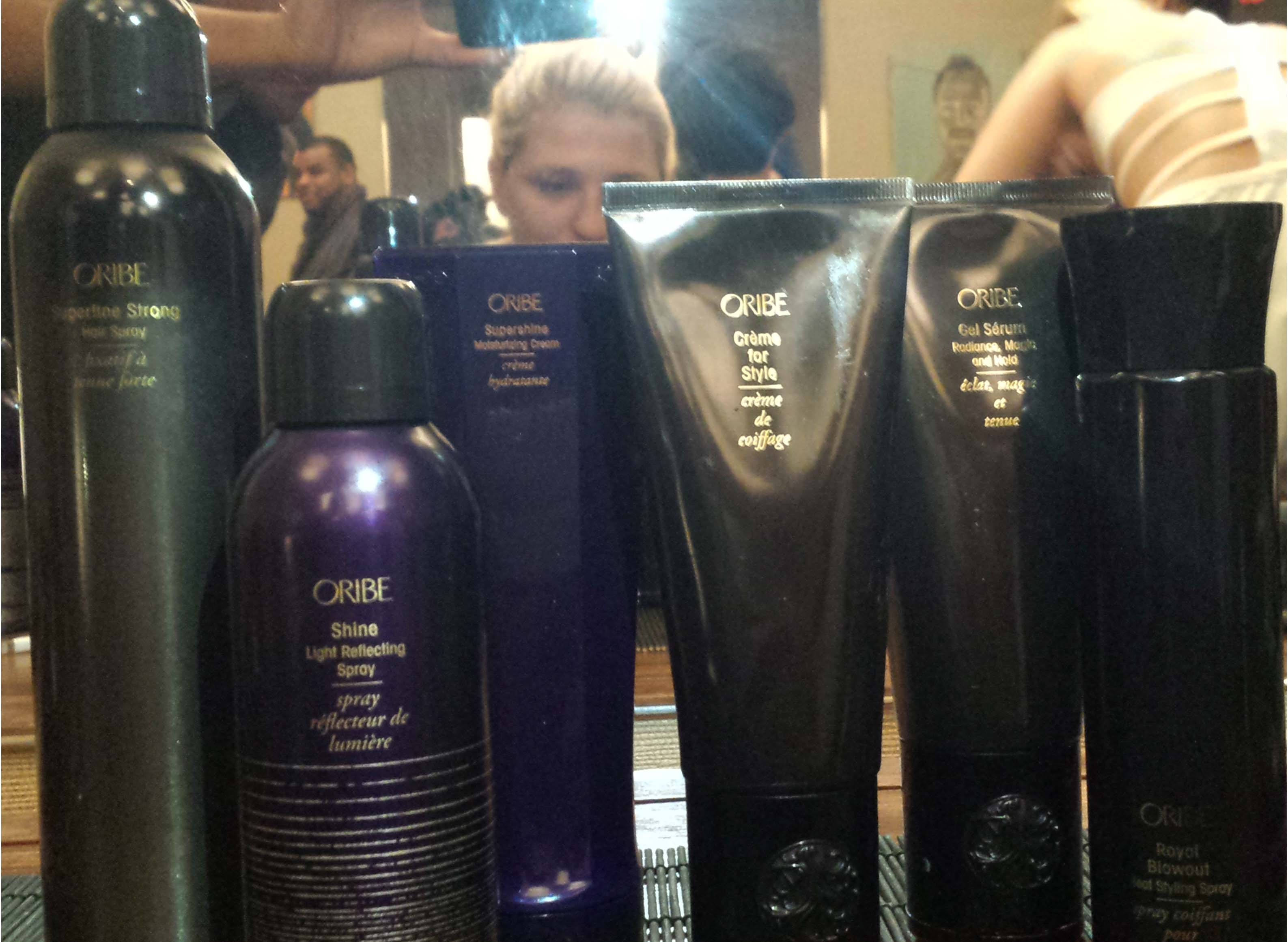 Oribe products Chuck used