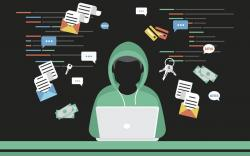 Hacker steals log in password of social networks account (source: iStock)
