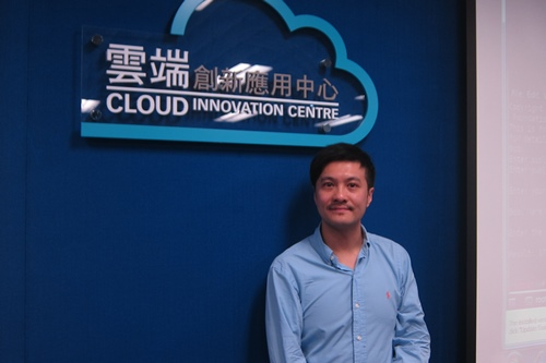 Cyrus Wong, R&D coordinator, dept of multimedia & internet technology, HK IVE