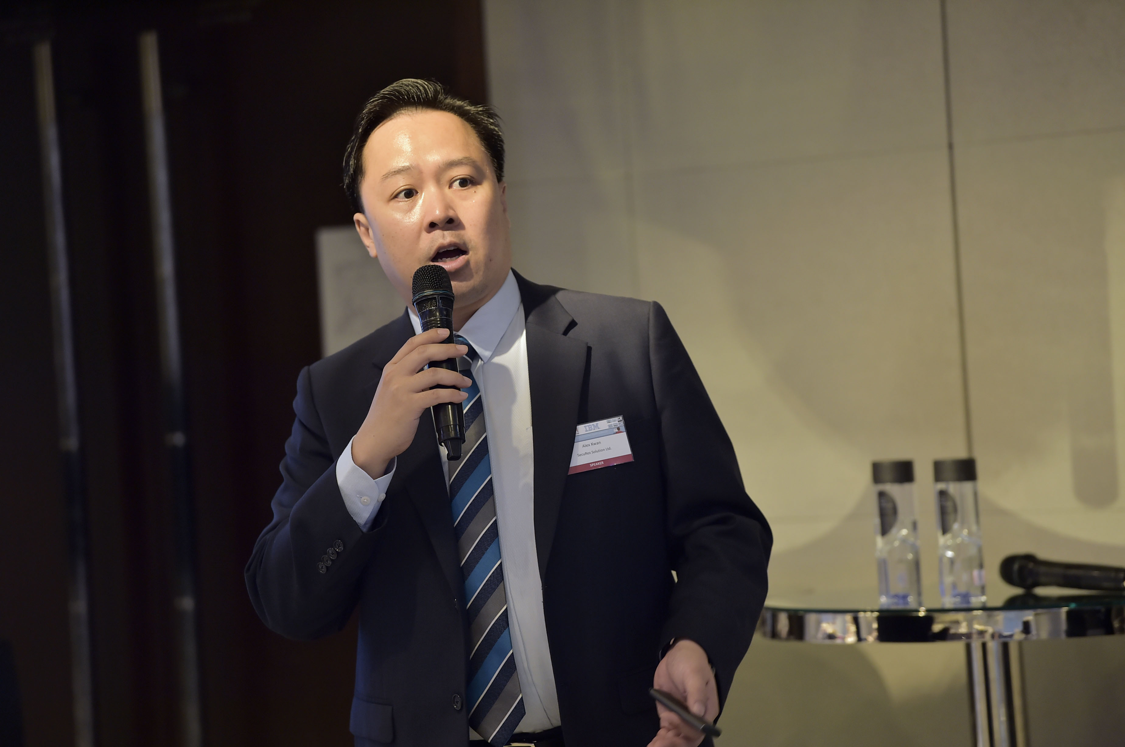 Alex Kwan, general manager and founder of SecuRex Solution