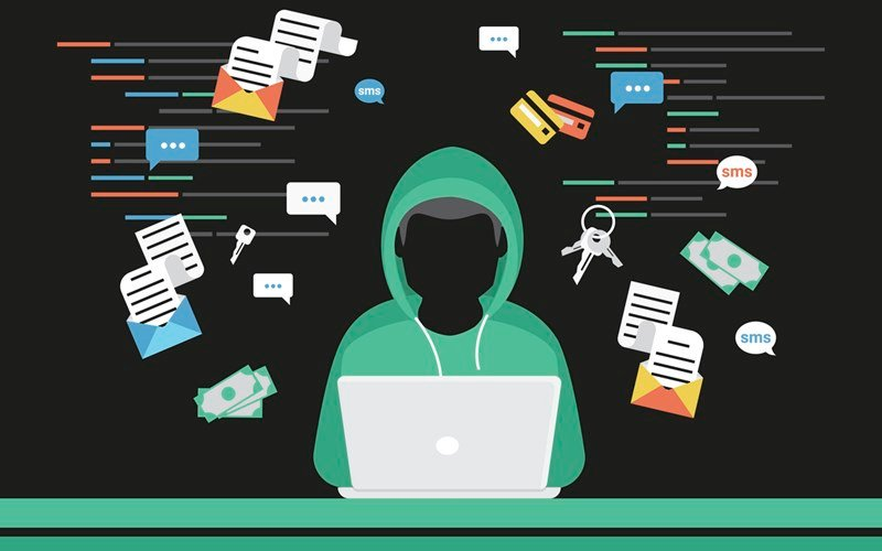 Hacker steals log in password of social networks accounts (source: iStock)