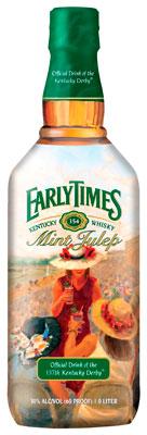 Early Times Mint Julep Bottles