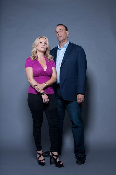 Jon Taffer with hot, Wife Nicole Taffer