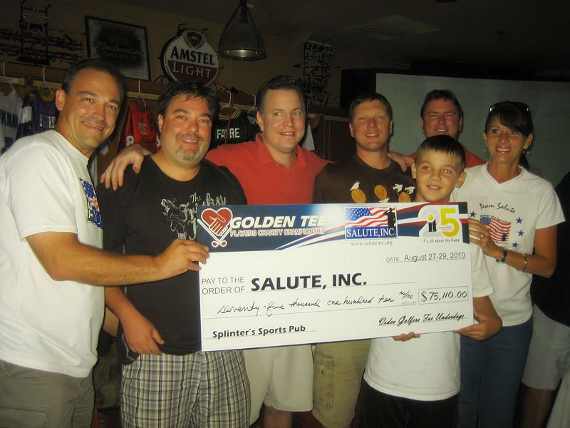 Golden tee Championship check