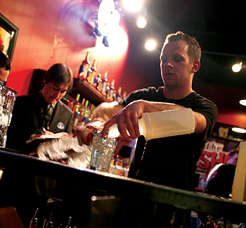 Shout House bartender Chris Raph