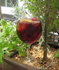 Winter Holiday Greenhouse Sangria Recipe