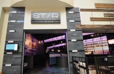 Stir Martini + Raw Bar
