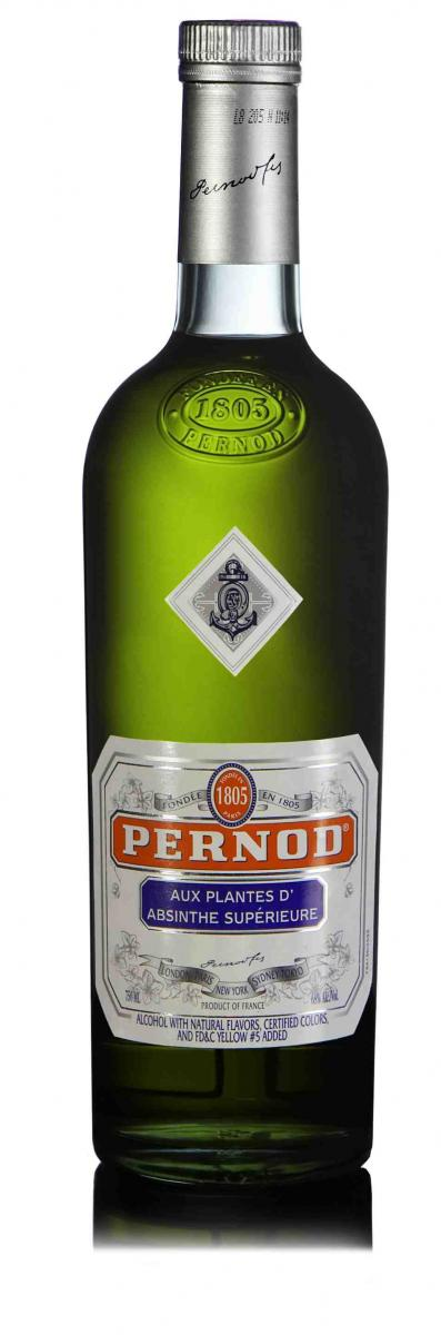 Pernod Absinthe new package