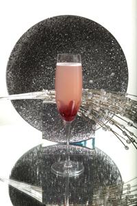 Winter Flower Cocktail