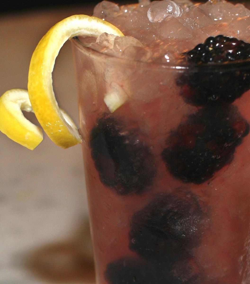 Beowolf Bramble cocktail