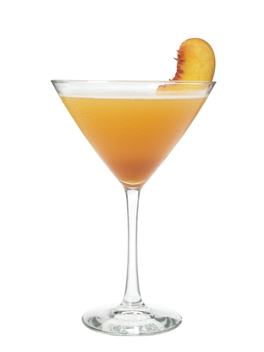 Kentucky Derby Peach cocktails