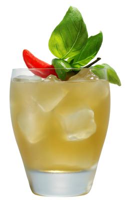 Corzo Basilica Mexicana cocktail