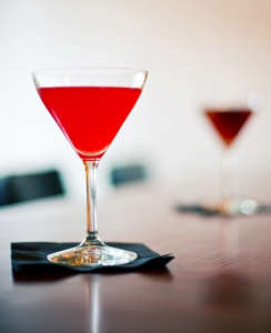 Crimson Crow Cocktail