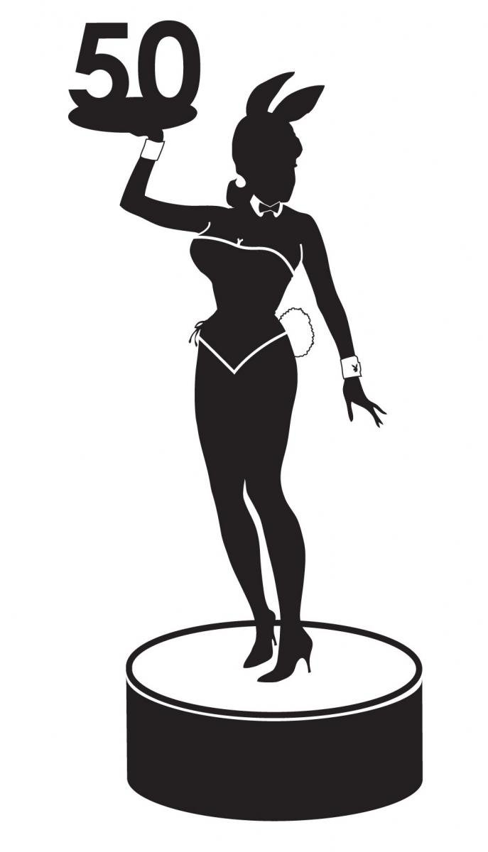 Playboy 50th Anniversary logo