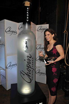 Sandra Bullock Chopin Vodka