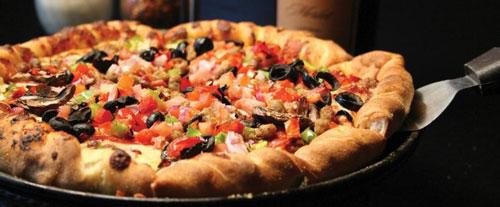Louis Fayetteville, Ark., pizza