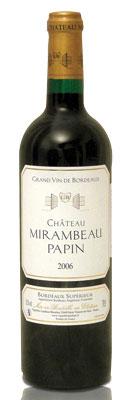 Mirambeau Papin Bordeaux