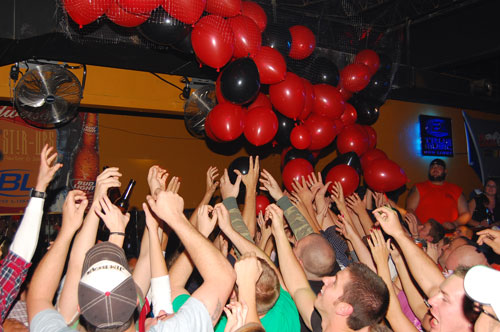 Stir-Ups Balloon drop