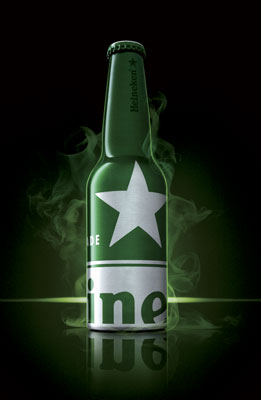 Heineken Black Light