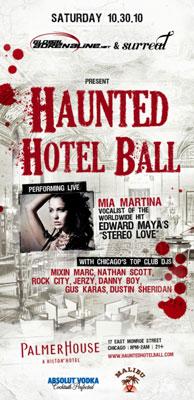 Haunted Hotel Bar