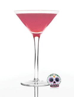 Fresa Catrina cocktail