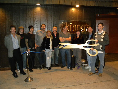 Skinny's Lounge Ribbon-Cutting
